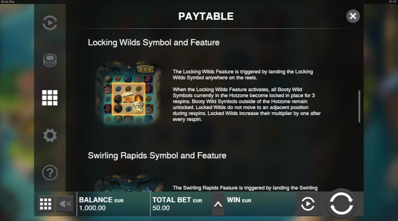 Booty Bay :: Lucky Wild Symbol and Feature