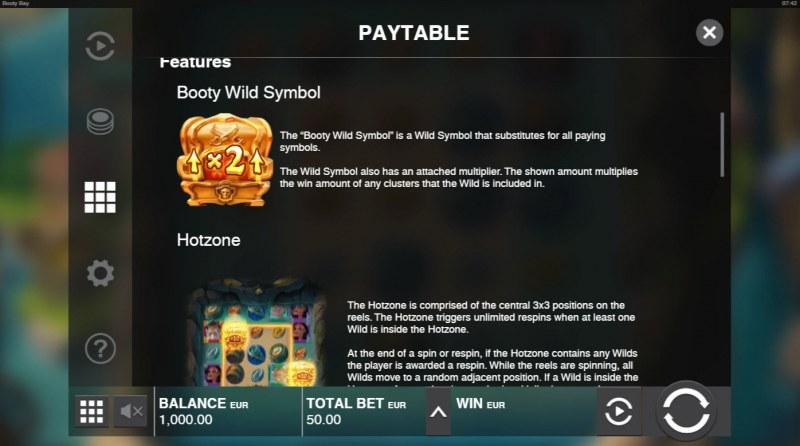 Booty Bay :: Wild Symbol Rules