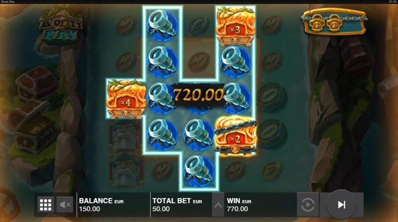 Booty Bay :: Multiple winning combinations