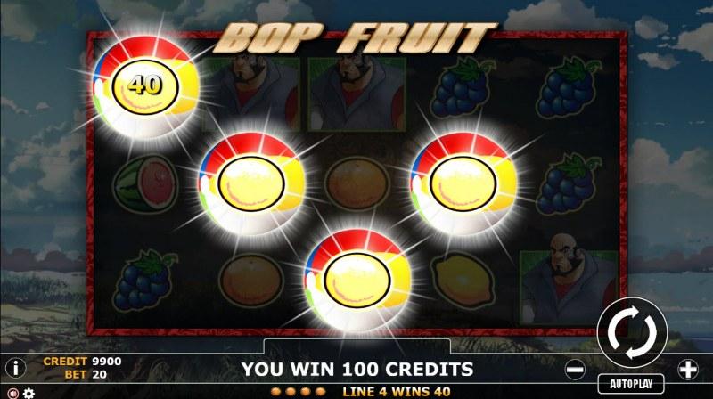 Bop Fruit :: Four of a kind