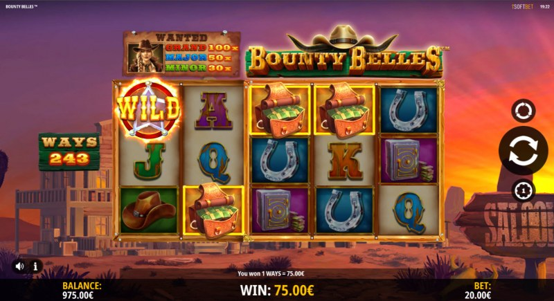 Bounty Belles :: A four of a kind win