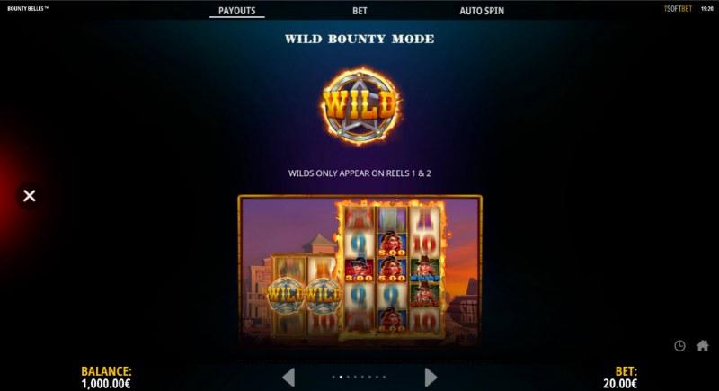 Bounty Belles :: Wild Symbol Rules