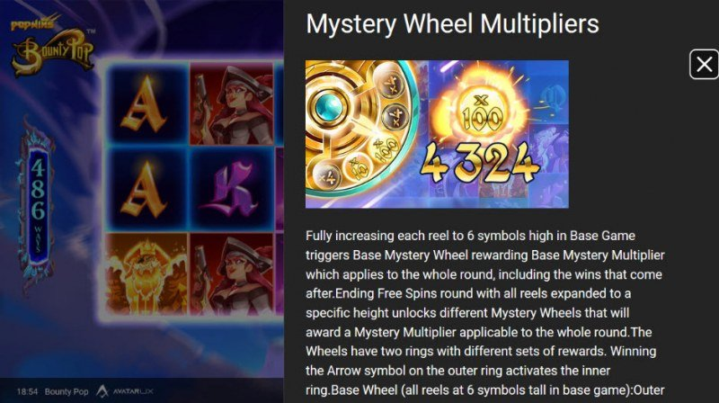 BountyPop :: Mystery Wheel Multipliers