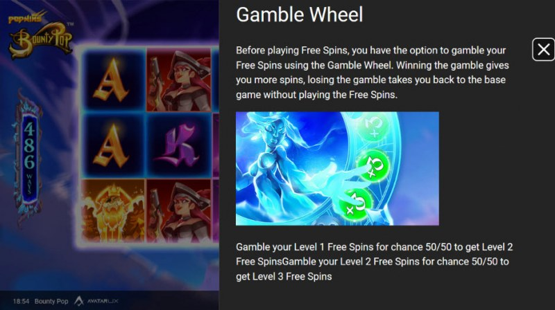 BountyPop :: Gamble Wheel
