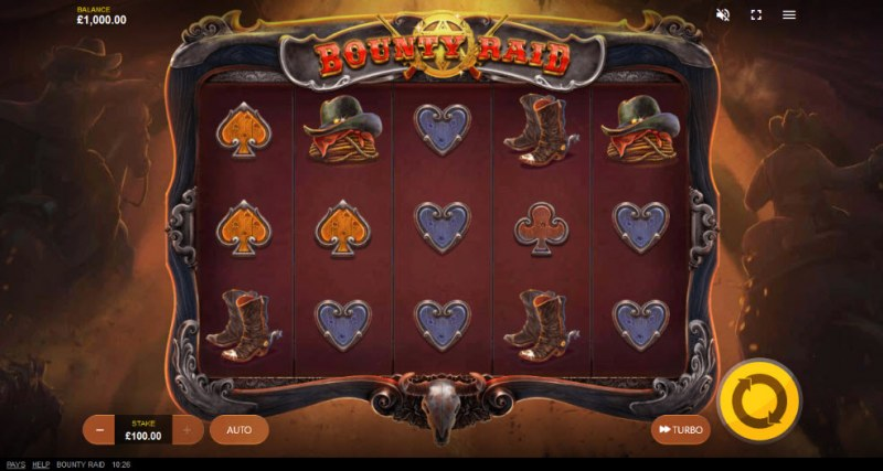 Bounty Raid :: Main Game Board