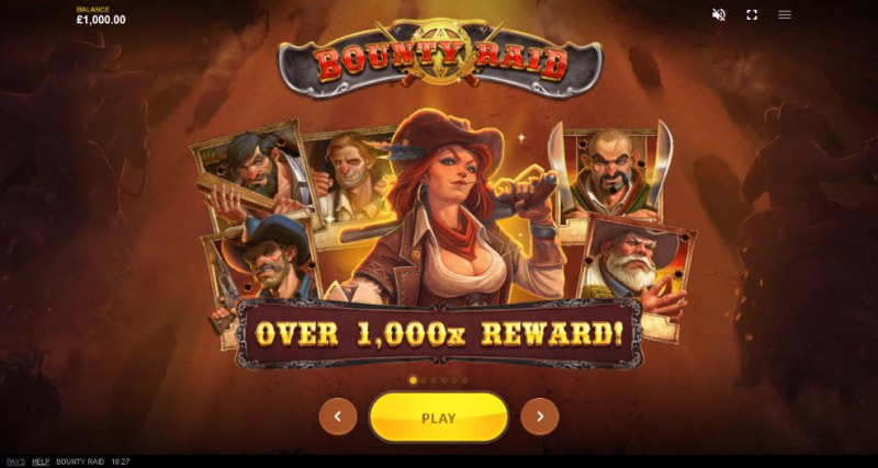 Bounty Raid :: Win Over 1,000x