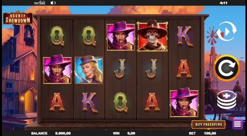 Bounty Showdown :: Main Game Board