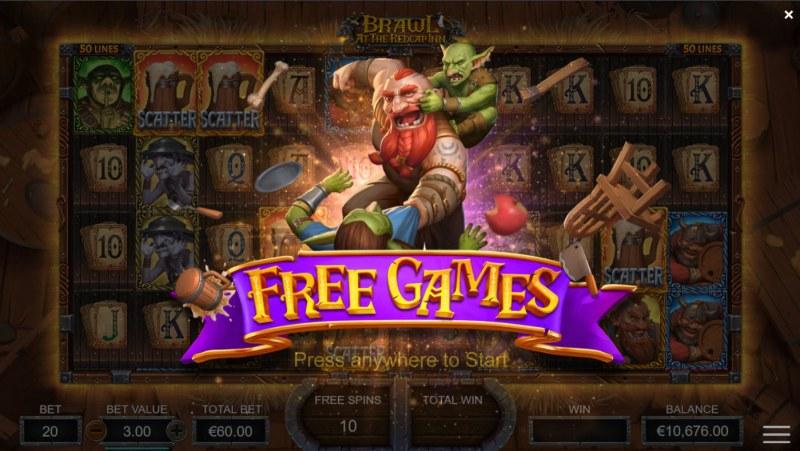Brawl at the Redcap Inn :: Free Games awarded