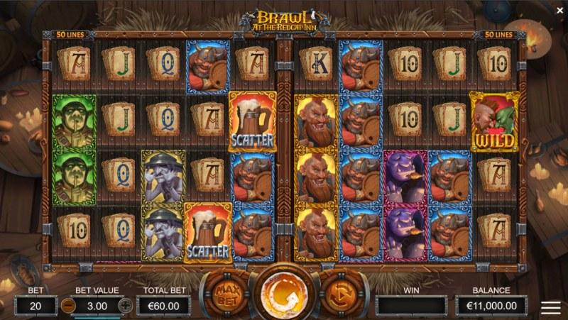 Brawl at the Redcap Inn :: Base Game Screen