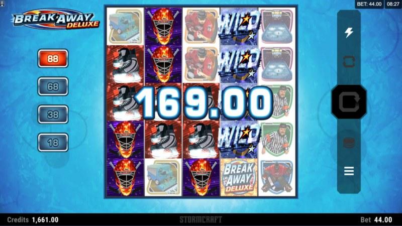 Break Away Deluxe :: Multiple winning paylines