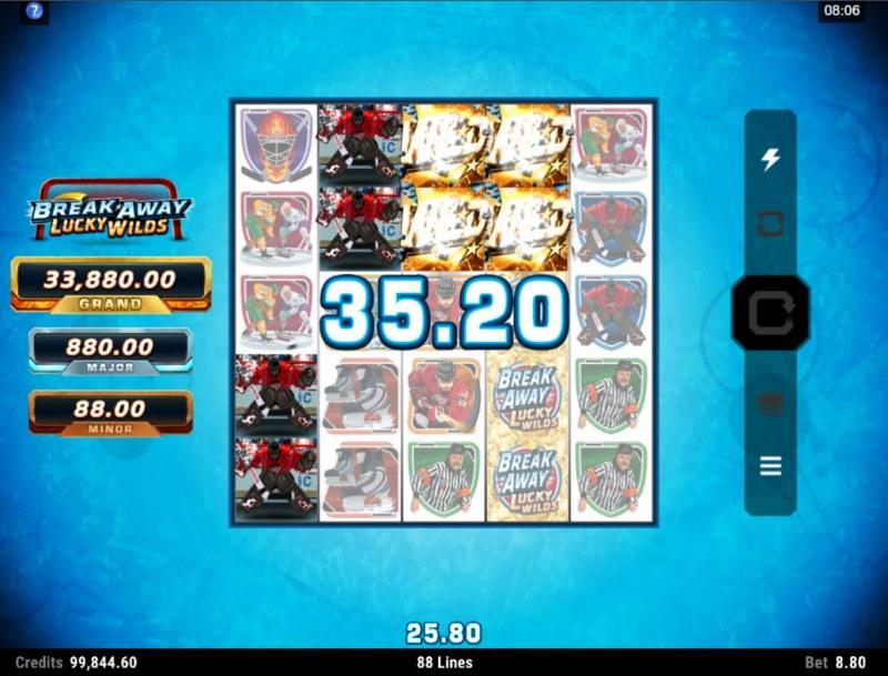 Break Away Lucky Wilds :: Multiple winning combinations