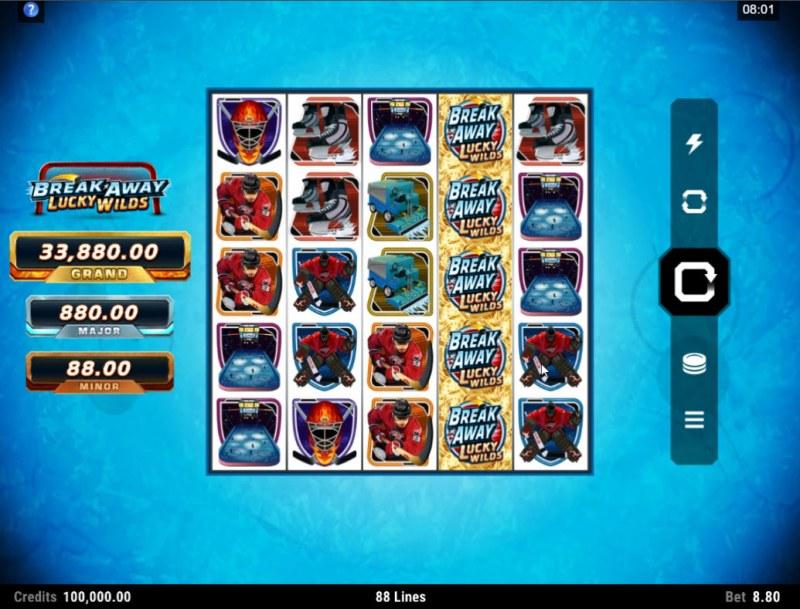 Break Away Lucky Wilds :: Main Game Board