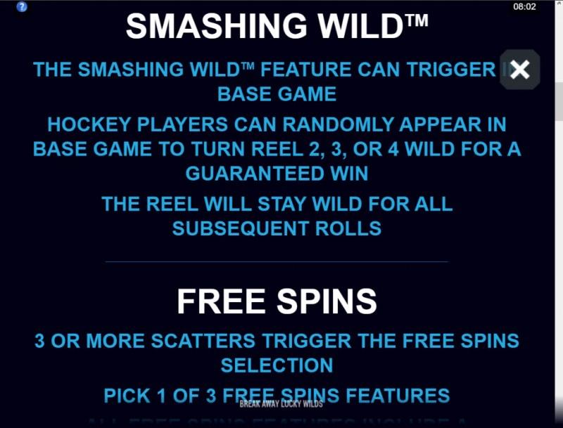 Break Away Lucky Wilds :: Smashing Wild Feature