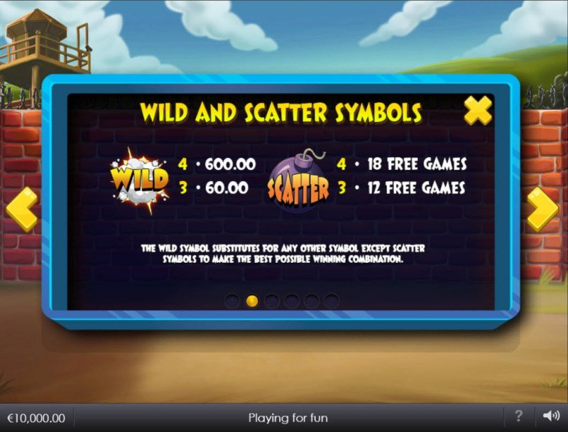 Breakout Bob :: Wild and Scatter Rules