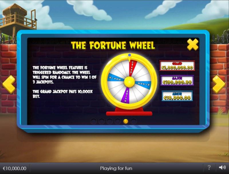 Breakout Bob :: Fortune Wheel