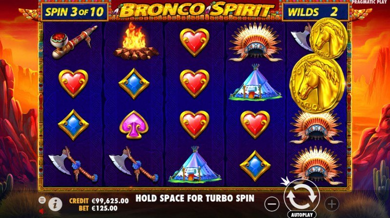 Bronco Spirit :: Collect coins during game play