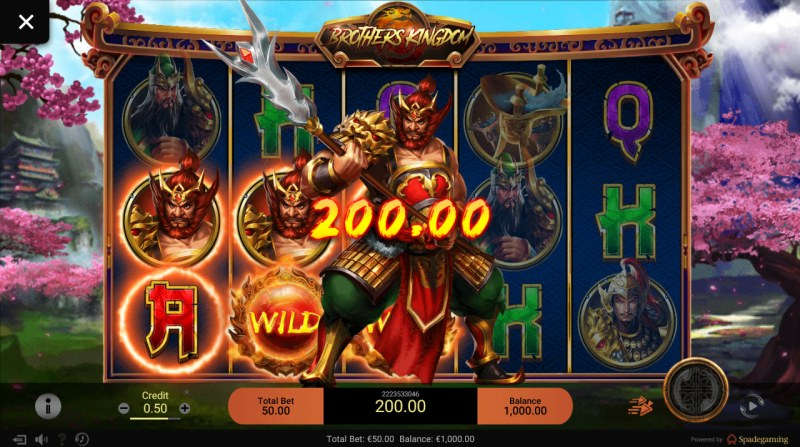 Brothers Kingdom :: Multiple winning paylines