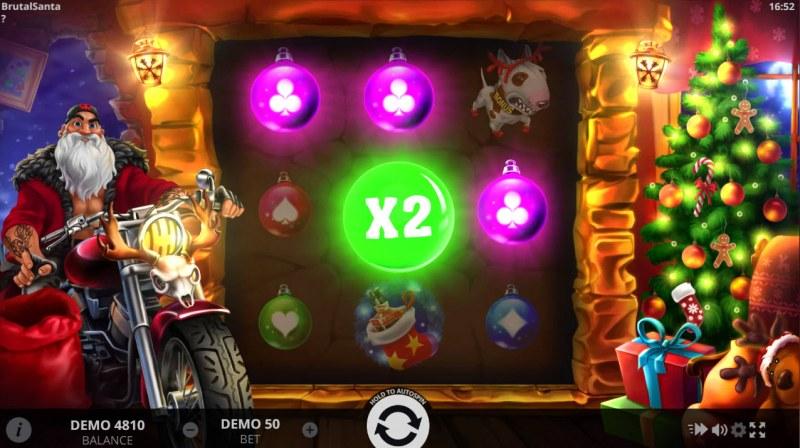Brutal Santa :: X2 Win Multiplier