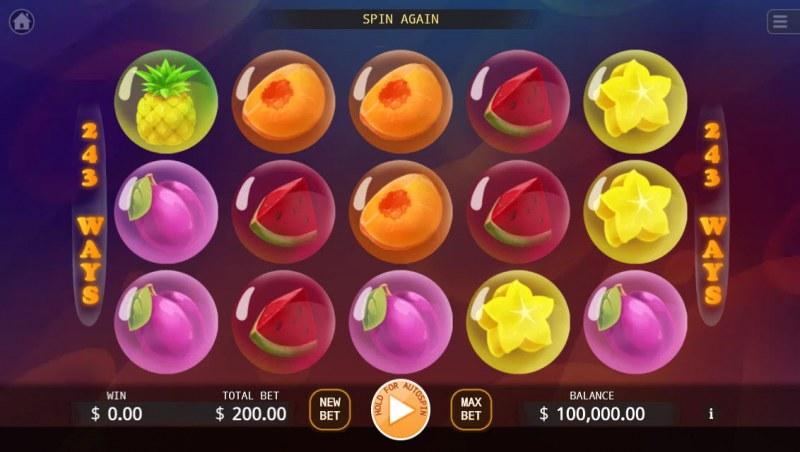 Bubble Double :: Main Game Board