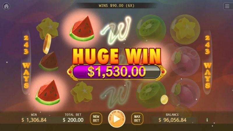 Bubble Double :: Huge Win