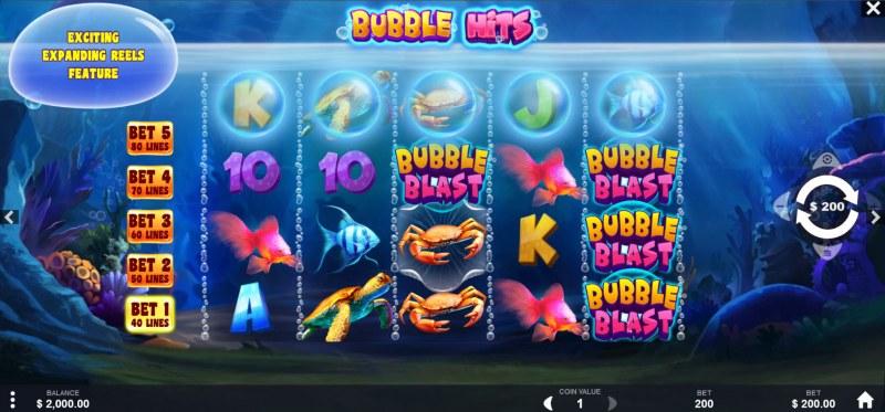 Bubble Hits :: Main Game Board