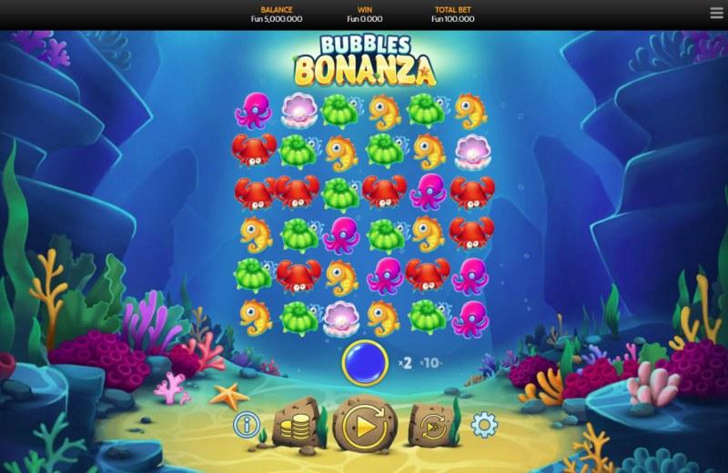 Bubbles Bonanza :: Main Game Board