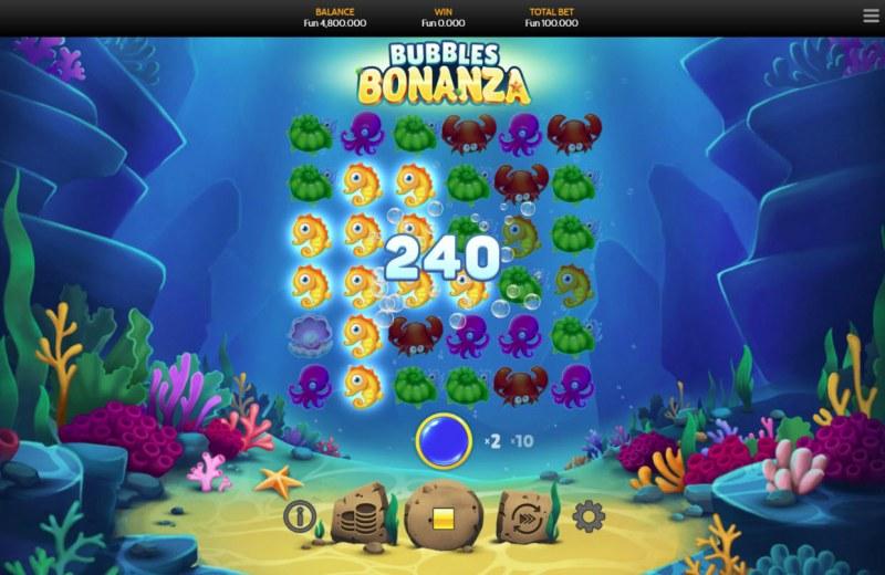 Bubbles Bonanza :: Multiple winning paylines
