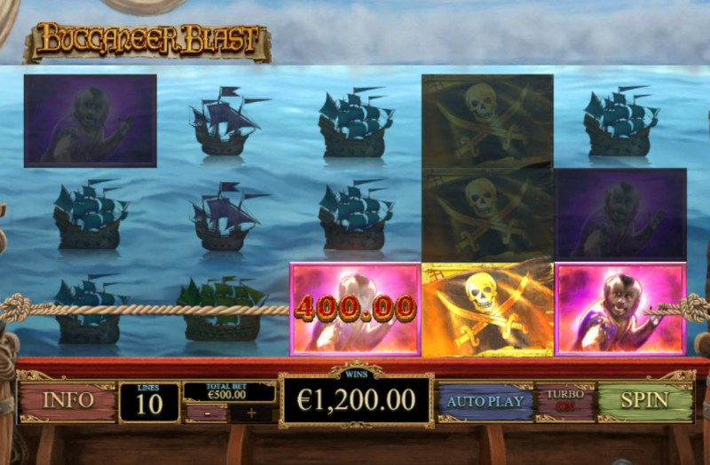 Buccaneer Blast :: Game Pays In Both Directions