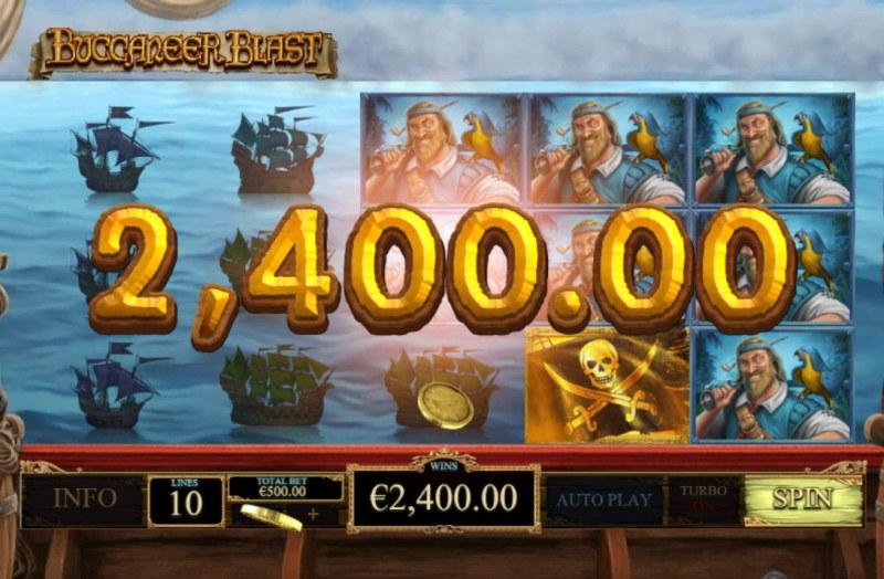 Buccaneer Blast :: Big Win