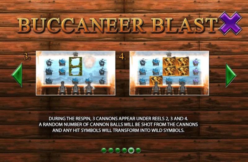 Buccaneer Blast :: Feature Rules