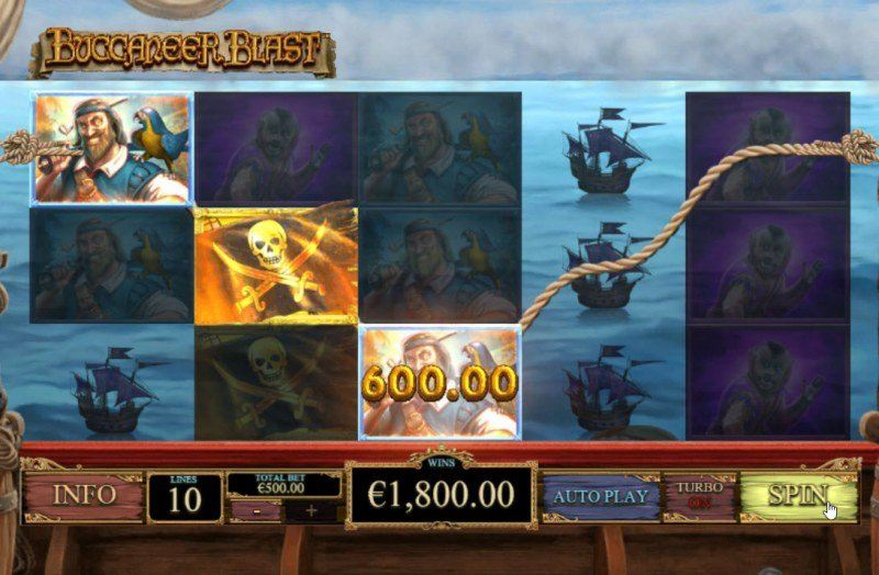 Buccaneer Blast :: Multiple winning paylines