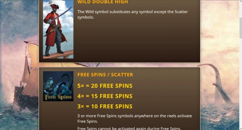 Buckaneers :: Wild and Scatter Rules
