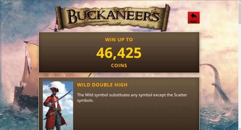 Buckaneers :: Win Up To 46,425 Coins