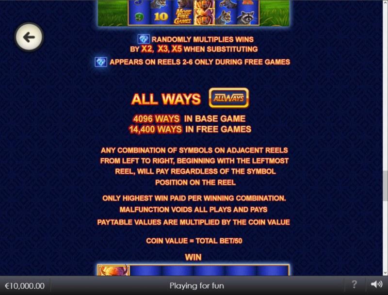 Buffalo Blitz II :: All Ways