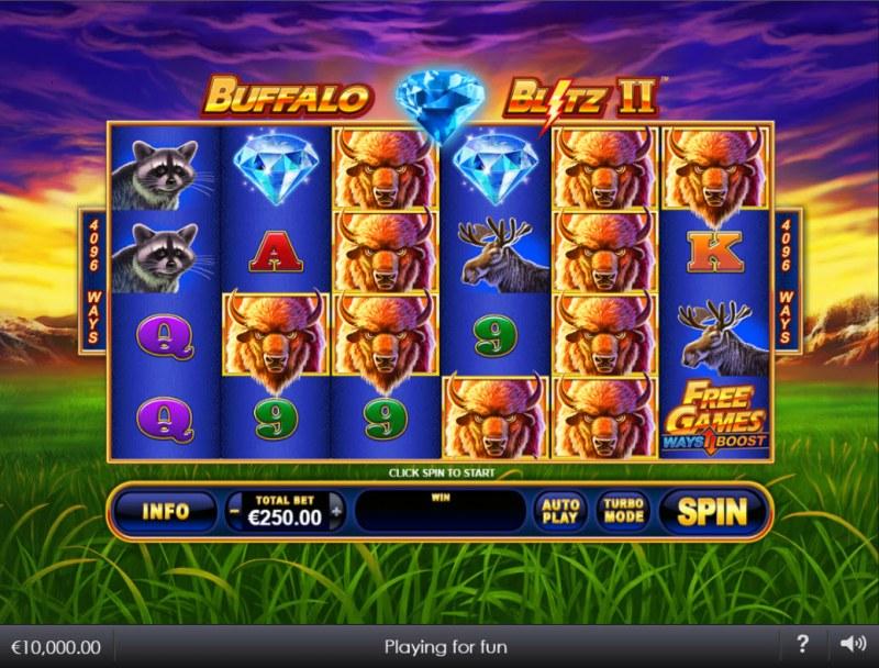 Buffalo Blitz II :: Main Game Board