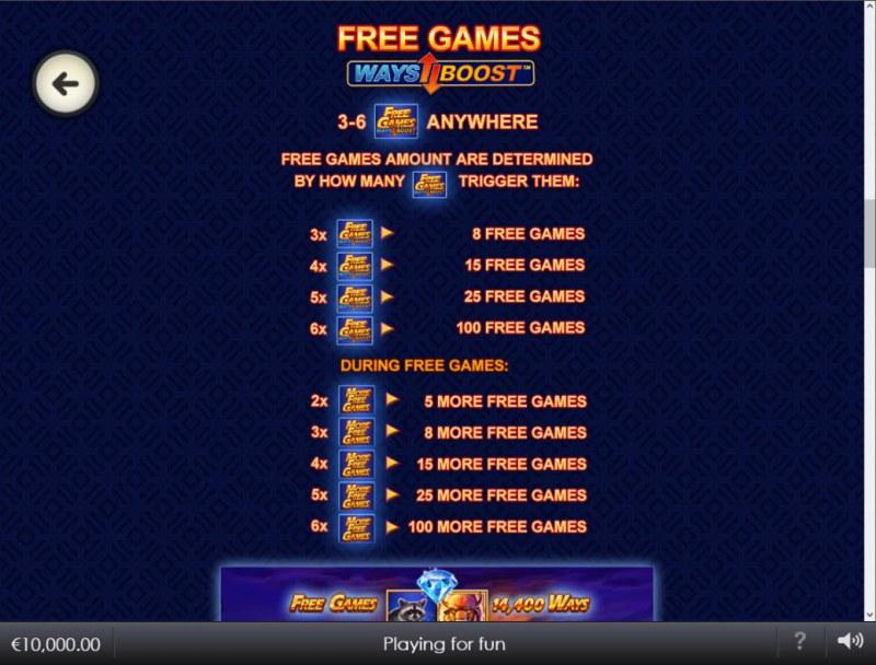 Buffalo Blitz II :: Free Game Rules