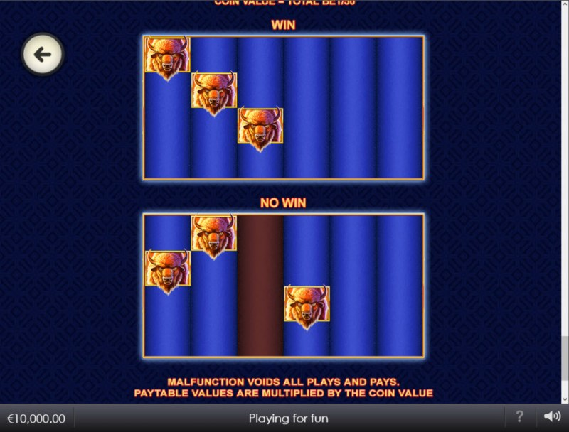 Buffalo Blitz II :: Feature Rules