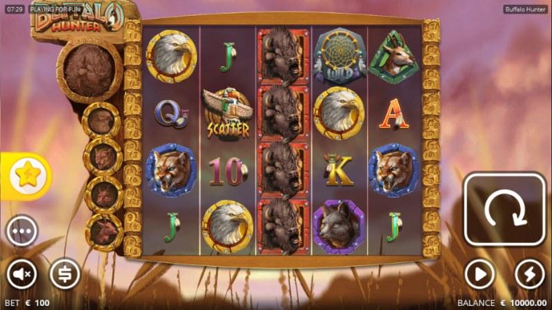 Buffalo Hunter :: Main Game Board