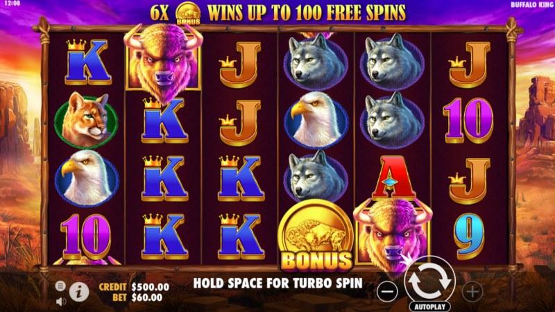 Buffalo King :: Main Game Board
