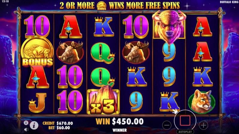 Buffalo King :: Big Win