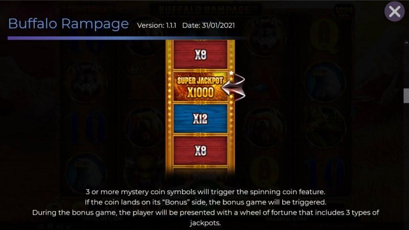 Buffalo Rampage :: Bonus Feature