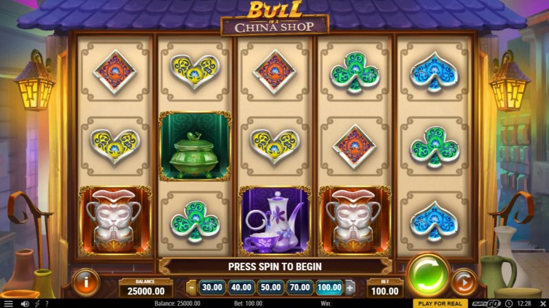 Bull in a China Shop :: Main Game Board