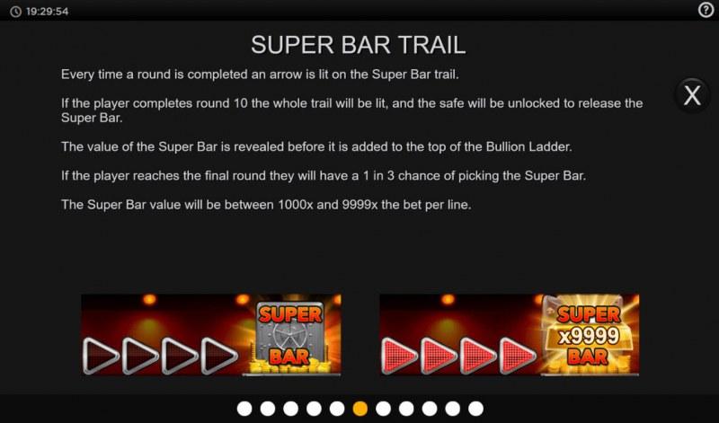 Bullion Bars Grab the Gold :: Super Bar Trail