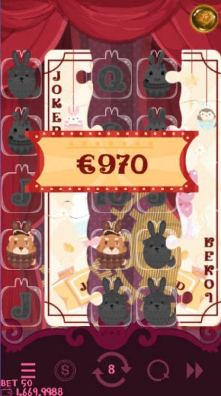 Bunny Circus :: Multiple winning combinations