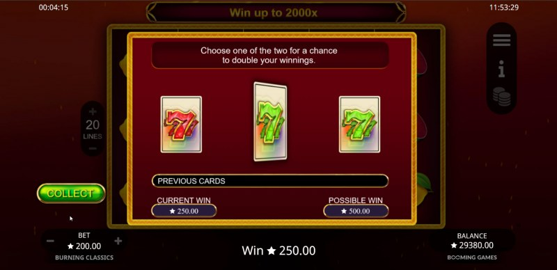 Burning Classics :: Gamble feature