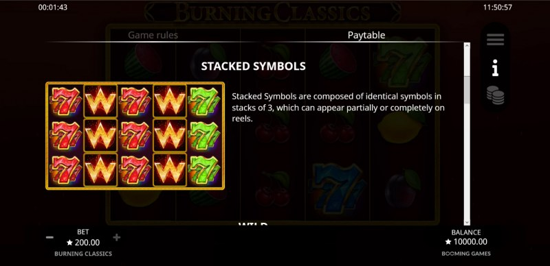 Burning Classics :: Stacked Symbols