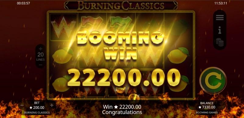 Burning Classics :: Big Win