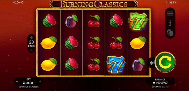Burning Classics :: Main Game Board