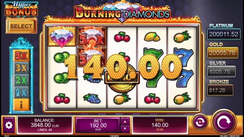 Burning Diamonds :: Three of a kind