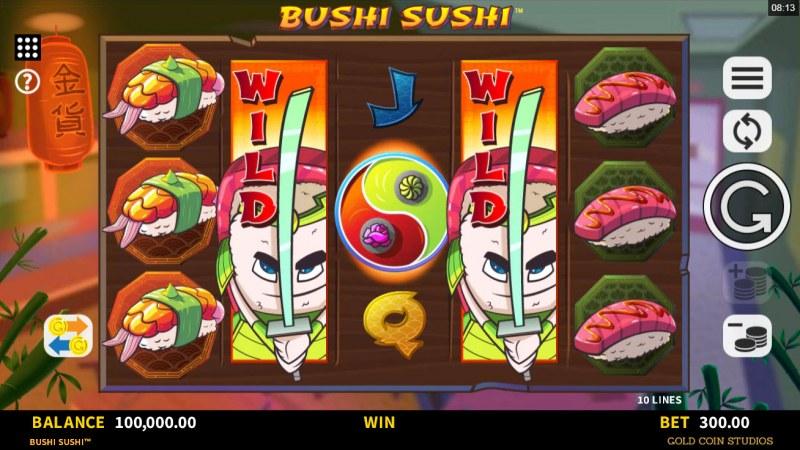 Bushi Sushi :: Main Game Board